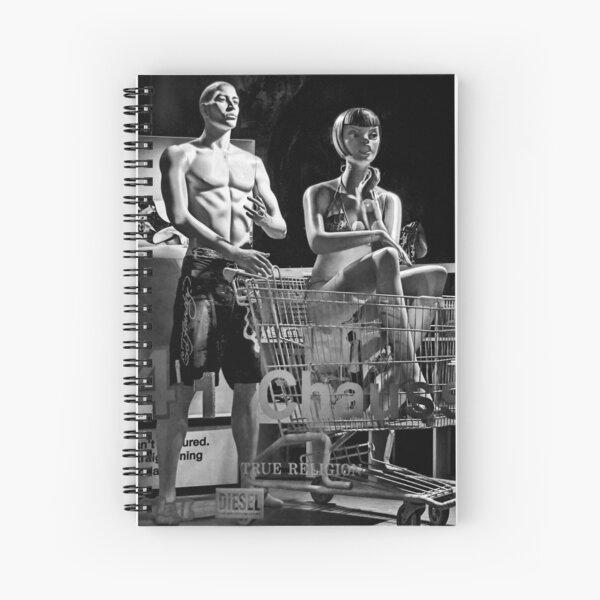 True Religion BW Spiral Notebook