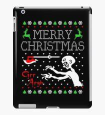 buffy christmas iPad Case/Skin