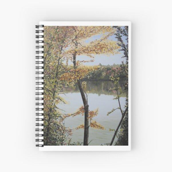 Crawford Lake - Autumn (c) Ian Ridpath 2010 Spiral Notebook