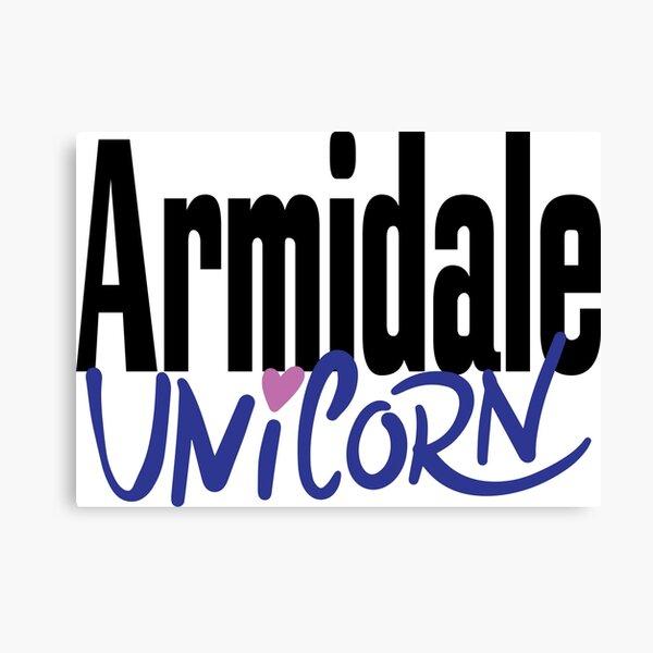 Armidale Unicorn New South Wales Australia Raised Me Canvas Print