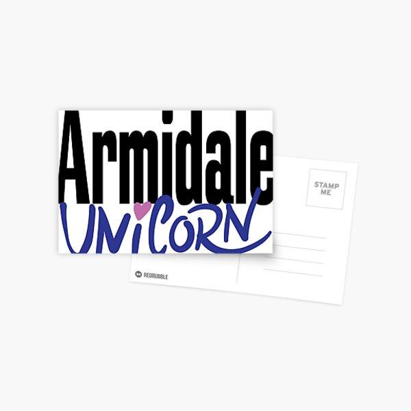 Armidale Unicorn New South Wales Australia Raised Me Postcard