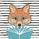 Reading Fox by eviebookish