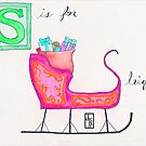 S is for Santa's Sleigh by JenaBenton