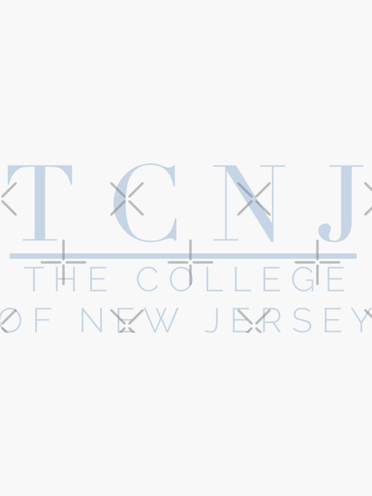 the college of new jersey by stickersbycare