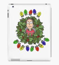 Happy Human Holiday! iPad Case/Skin