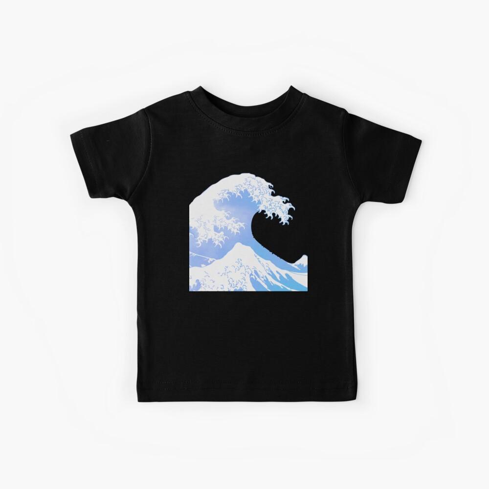 Große Welle Kinder T-Shirt