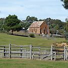 Old church at Hill End, NSW by PhotosByG