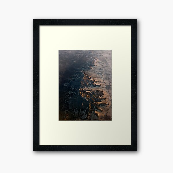 North China Dawn Framed Art Print