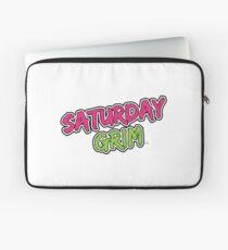 Saturday Grim (logo) Laptop Sleeve