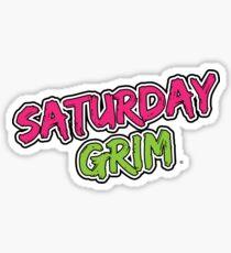 Saturday Grim (logo) Sticker