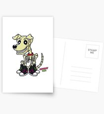 Herc (the Undead Dog) Postcards