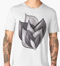 Abstract Dynamic Shapes Men's Premium T-Shirt