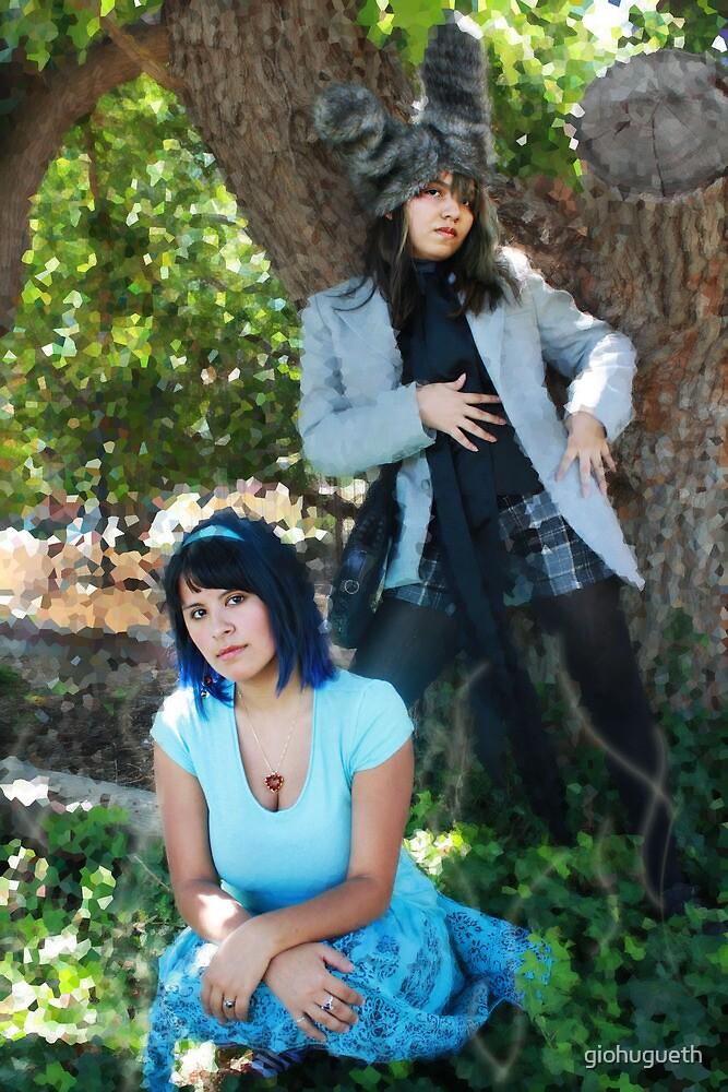 Alice and Haigha by giohugueth