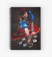 Gipsy Tarot Magic Spiral Notebook