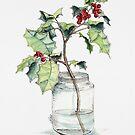 Weihnachtsstechpalme von JRoseDesign