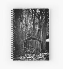 Old Shed - Scotland Spiral Notebook