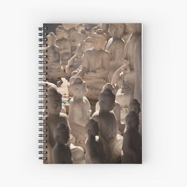 Buddha Shadows Spiral Notebook