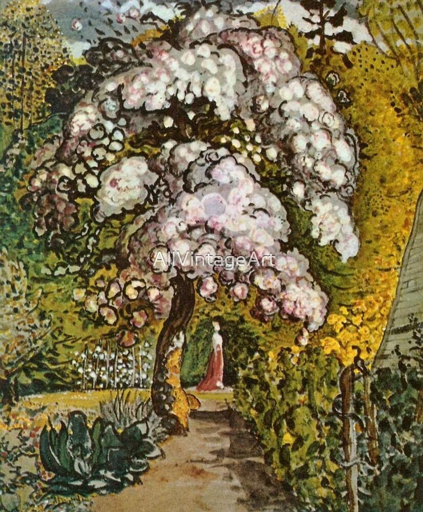 Vintage Samuel Palmer Garten In Shoreham C1818 By Allvintageart