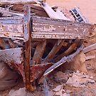 Abandoned Boat, Photo by Noora Elkoussy by Noora Elkoussy