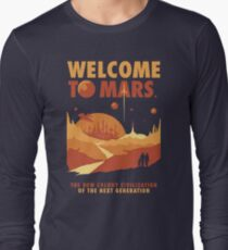 Welcome to Mars Long Sleeve T-Shirt