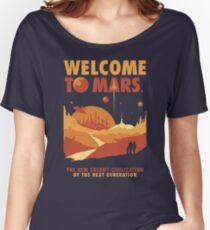 Willkommen auf dem Mars Baggyfit T-Shirt