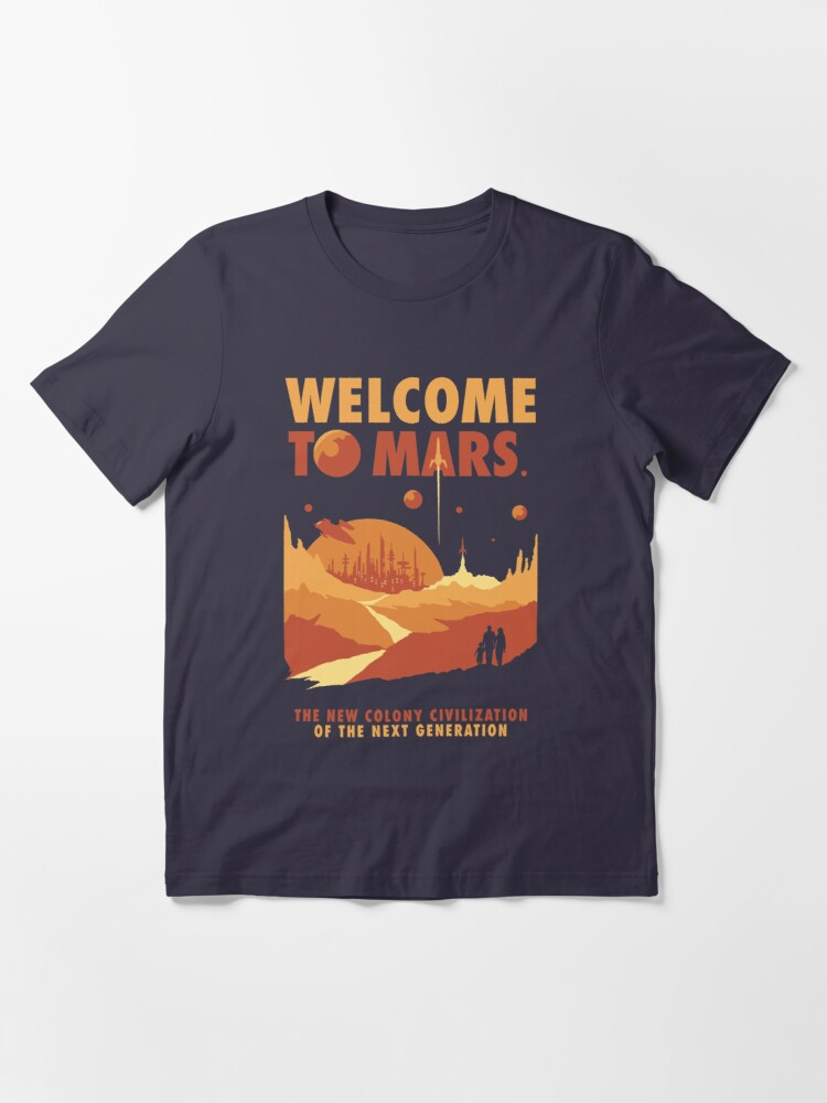 Alternate view of Welcome to Mars Essential T-Shirt