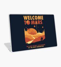 Willkommen auf dem Mars Laptop Skin