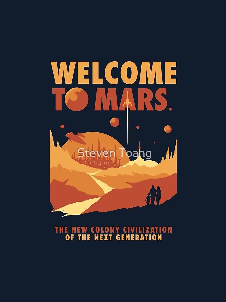 Willkommen auf dem Mars von Stevenmono