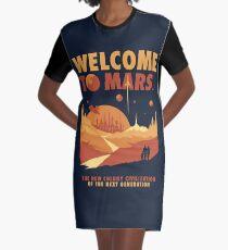 Willkommen auf dem Mars T-Shirt Kleid