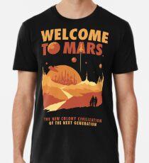 Welcome to Mars Men's Premium T-Shirt