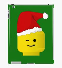 Santa Minifig by Customize My Minifig iPad Case/Skin