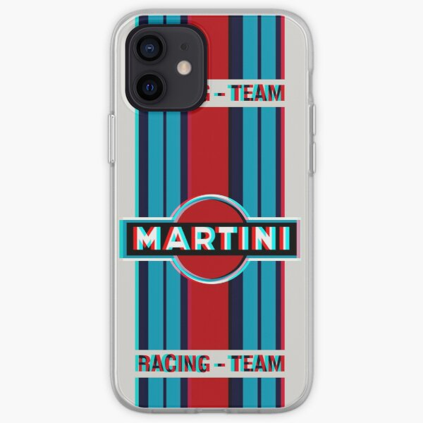 3D MARTINI RACING poster iPhone Soft Case