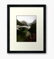 Tranquil Valley Framed Print
