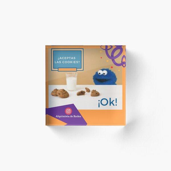 ¿Aceptas las cookies? Bloque acrílico