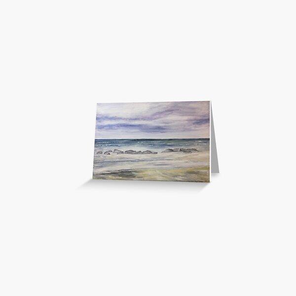 Runswick Bay, North Yorkshire Greeting Card