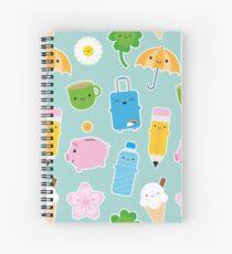 Kawaii Life Spiral Notebook