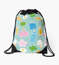 Kawaii Life Drawstring Bag