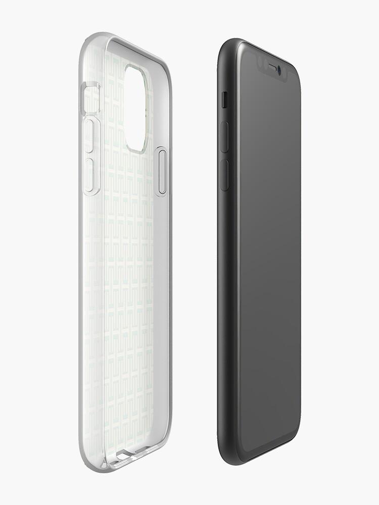 coque iphone x fluo - Coque iPhone «Espoir pour l'humanité», par JLHDesign