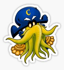 Captain Cthulhu Sticker