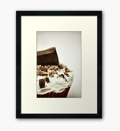 Milka Cupcake Framed Print