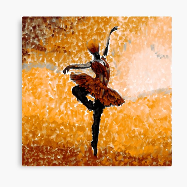 Dancing in The Autumn  Canvas Print