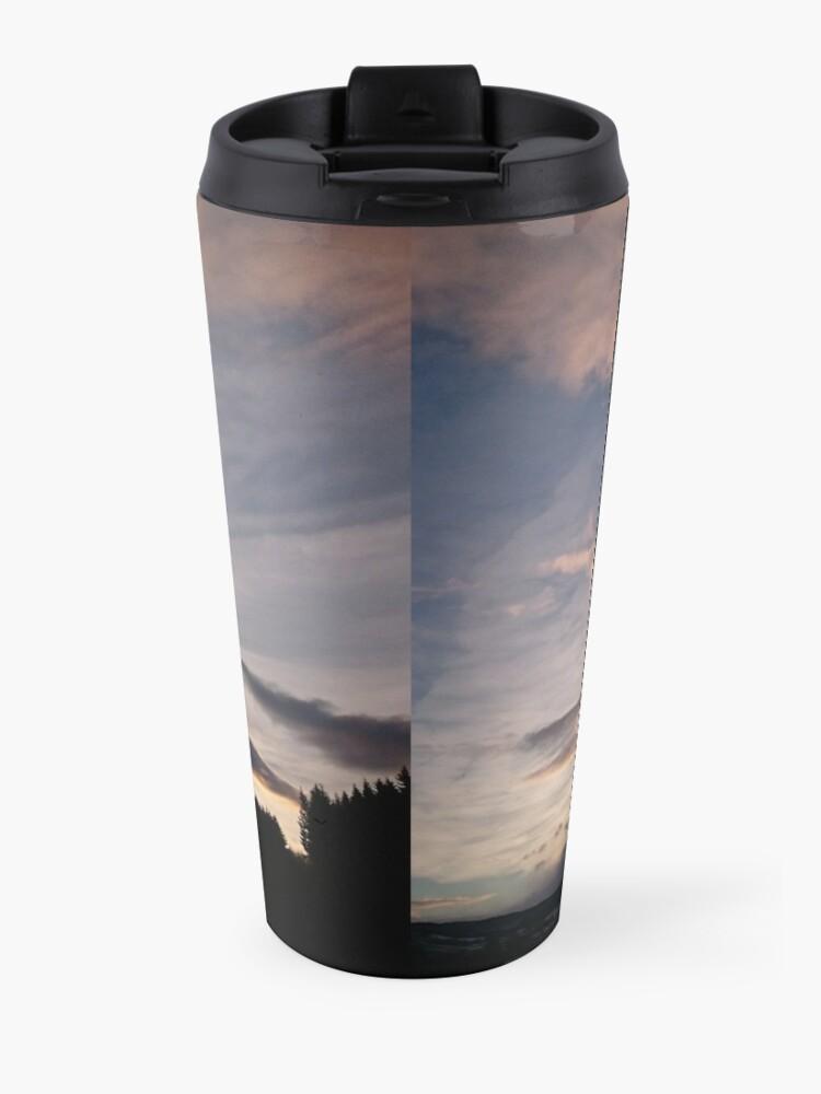 Alternate view of Evening Sky II Travel Mug