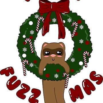 Merry Fuzz-mas! by GypsyFuzzDesign