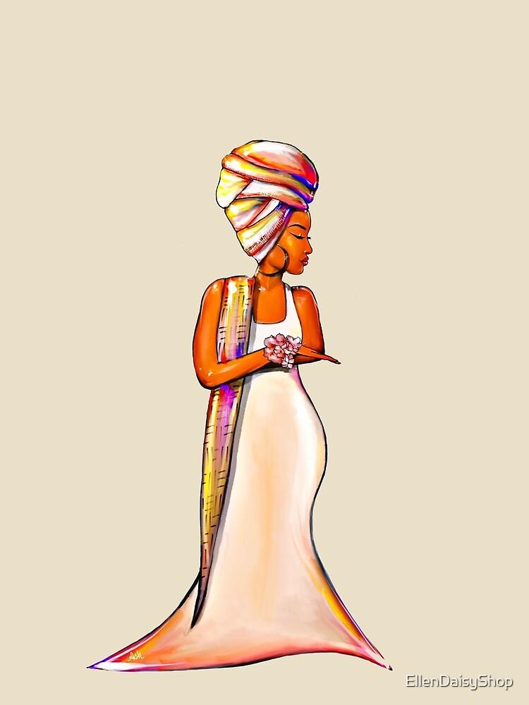 Queen In Us Women African Headwrap by EllenDaisyShop