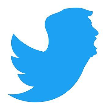 FAKENEWS Twitter Icon - President USA Donald Trump by G-Design