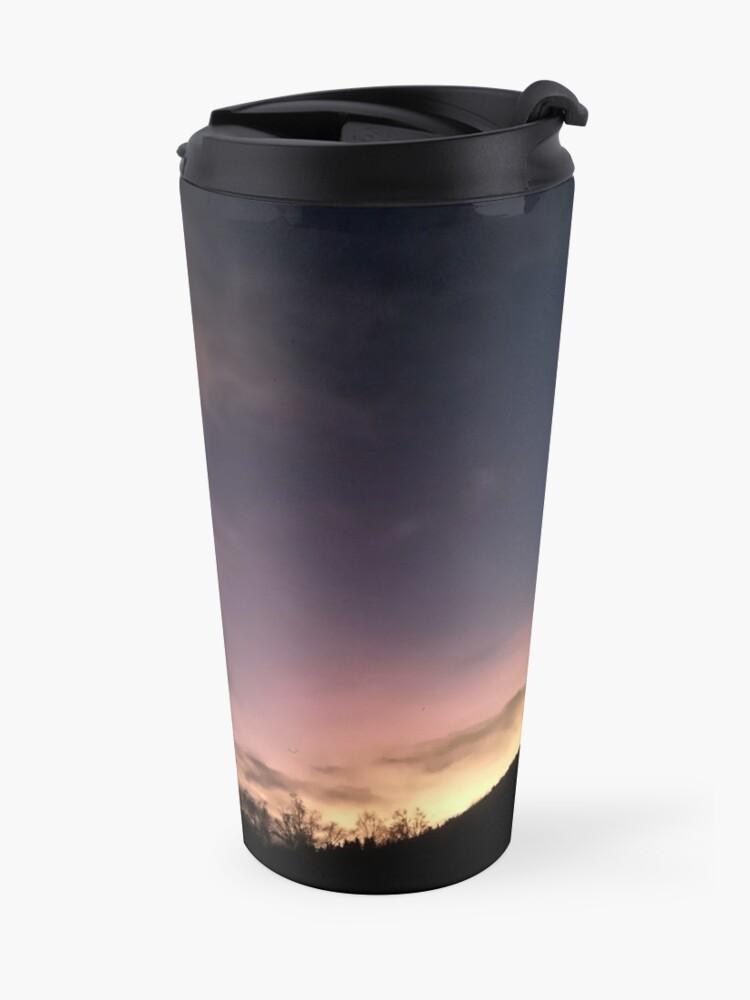 Alternate view of Evening Sky Travel Mug