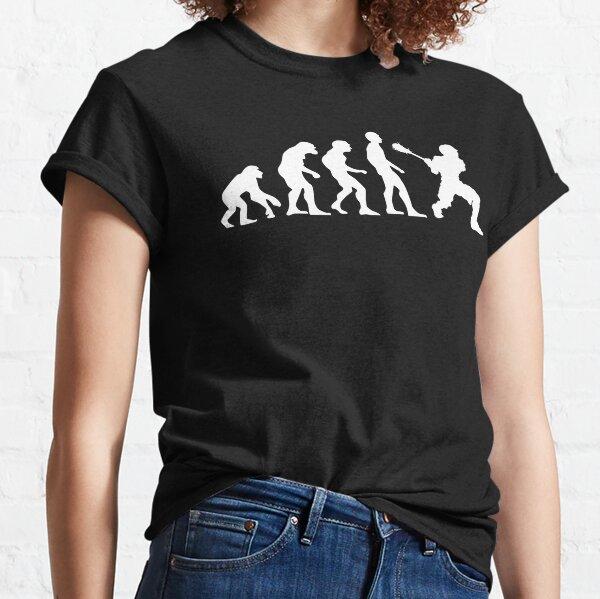 Lacrosse Evolution - Sports Fan  Classic T-Shirt