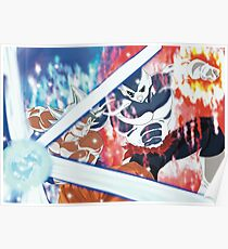 jiren vs goku - Ultra Instinct Goku Mastered - Migatte No Gokui  Poster