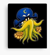 Captain Cthulhu Canvas Print