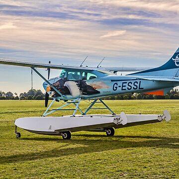 Cessna 182R Skylane Amphibian G-ESSL by oscar533